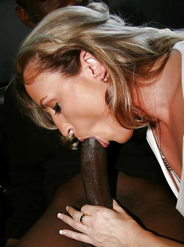 Black cougar blowjob — img 8