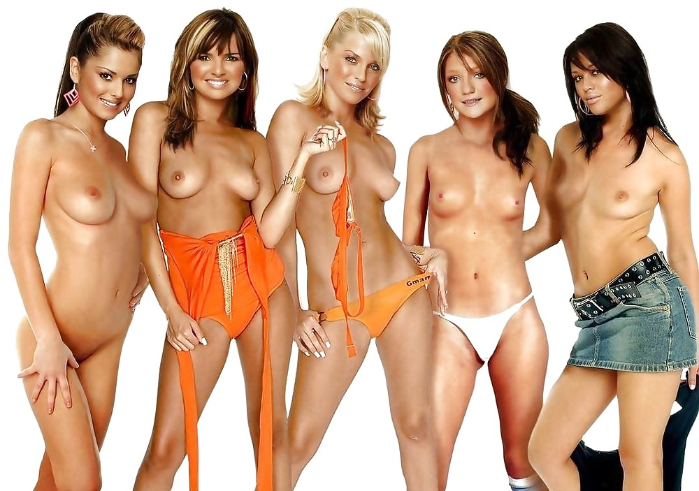 Nude spice girls pics