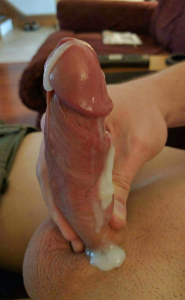 Big White Dick Masturbation