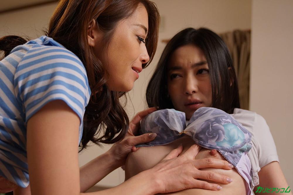 Maki Hojo and Ryu Enami :: The Unsatisfied Desire - CARIBBEA - 50 Pics