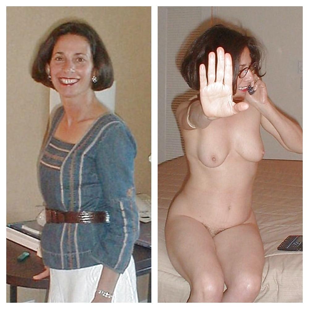Older women caught naked-2555