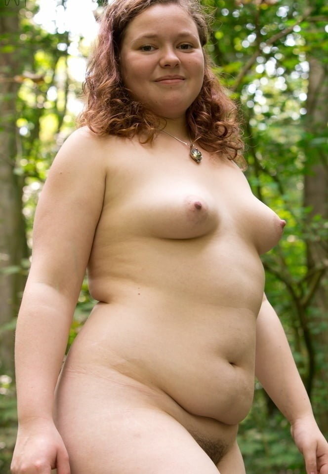 Chubby girls naked outdoors