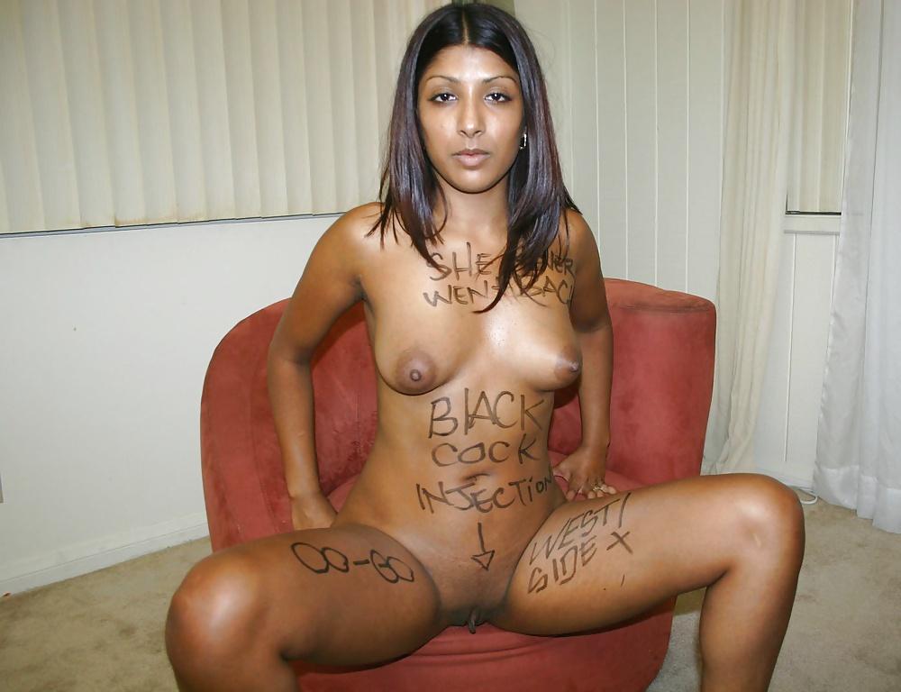 Indian slut naked