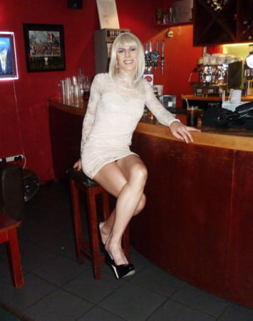 public Transvestite out in