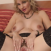 Hot mature MOM with big breast and hairy pussy 1
