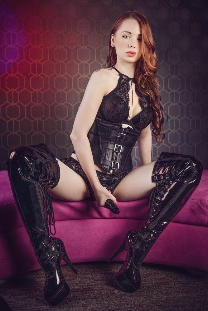 My favorite latex leather femdom fetish