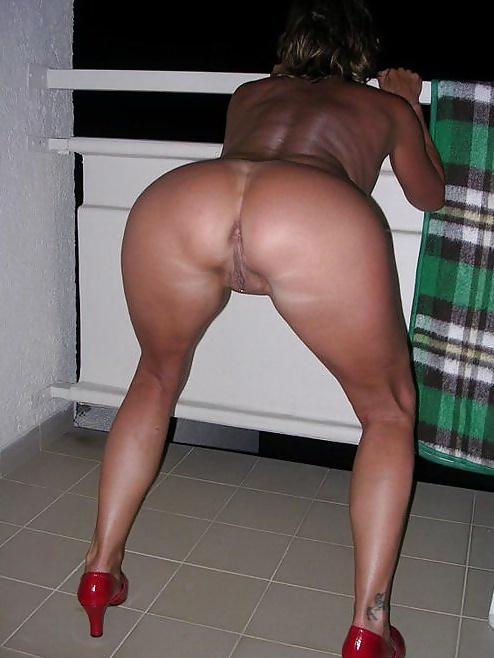 Sexy milf tanning ass #7