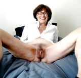 Granny Pussy Open For Cock