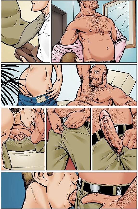 Gay comics front covers by zack men world