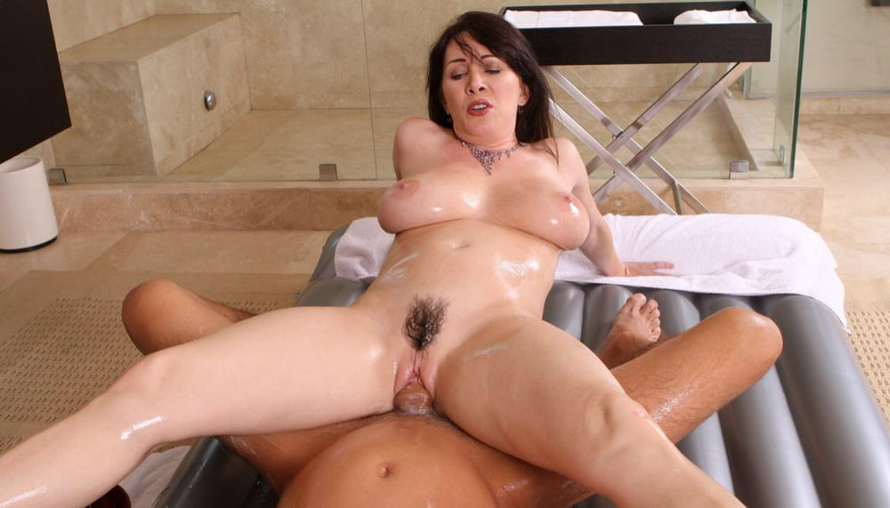 Busty milf massage with anal
