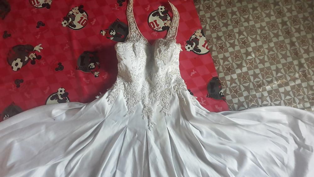 Huge tits wedding dress-7958