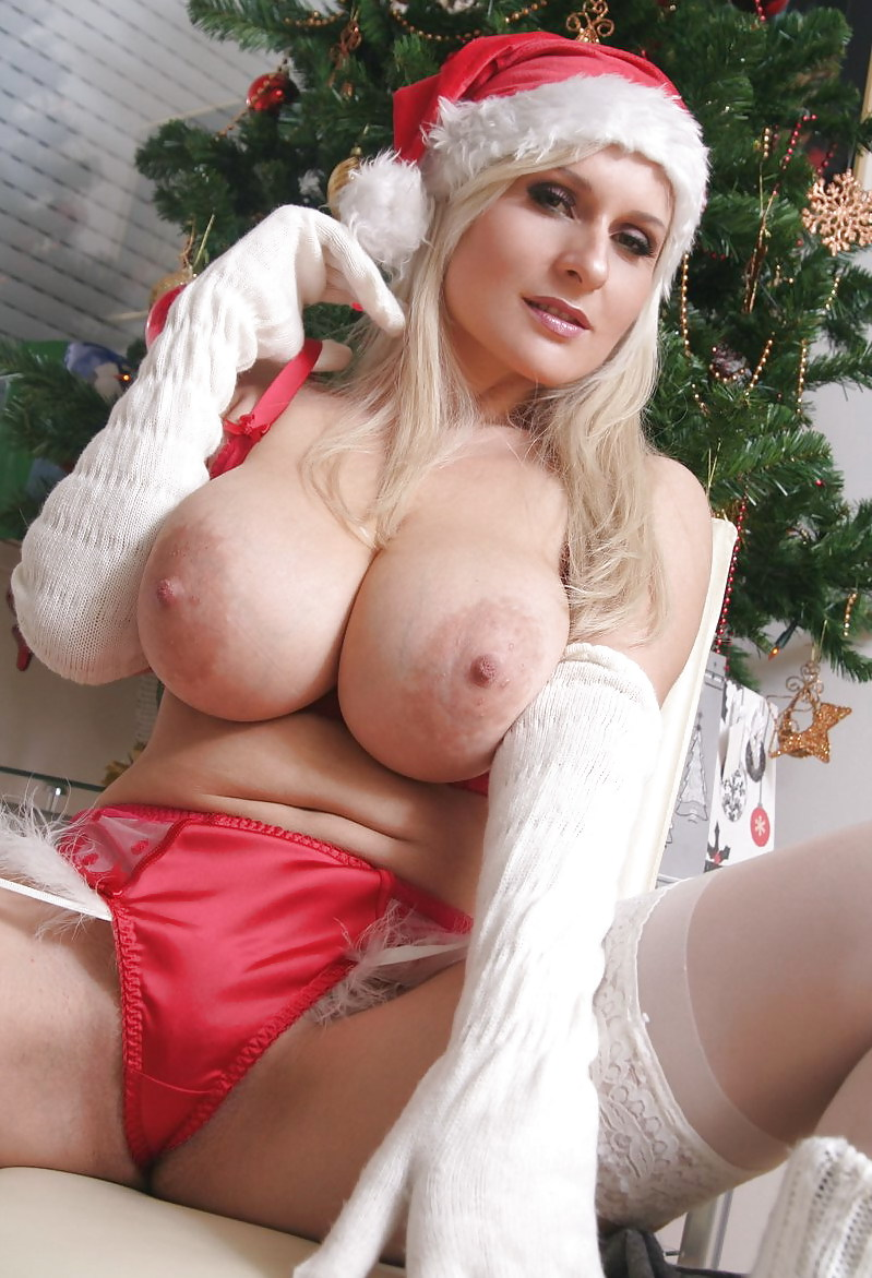 Big boobs christmas