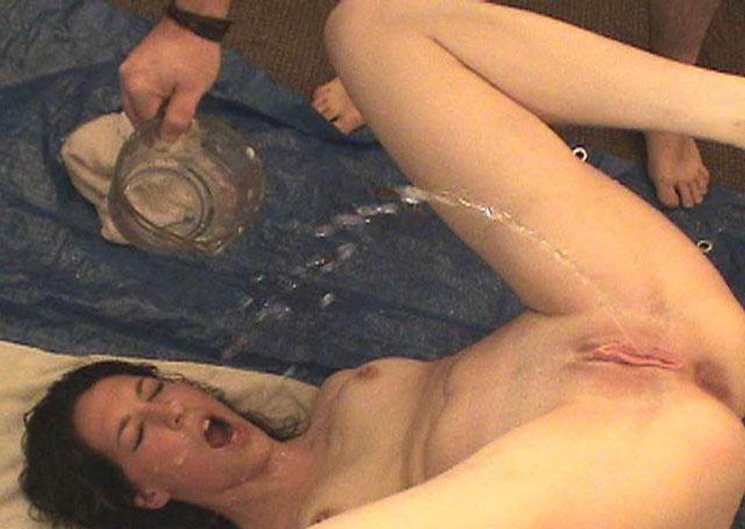 Self pee drink porn pics