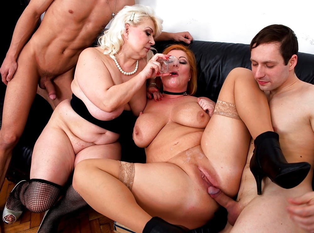 Old women orgy