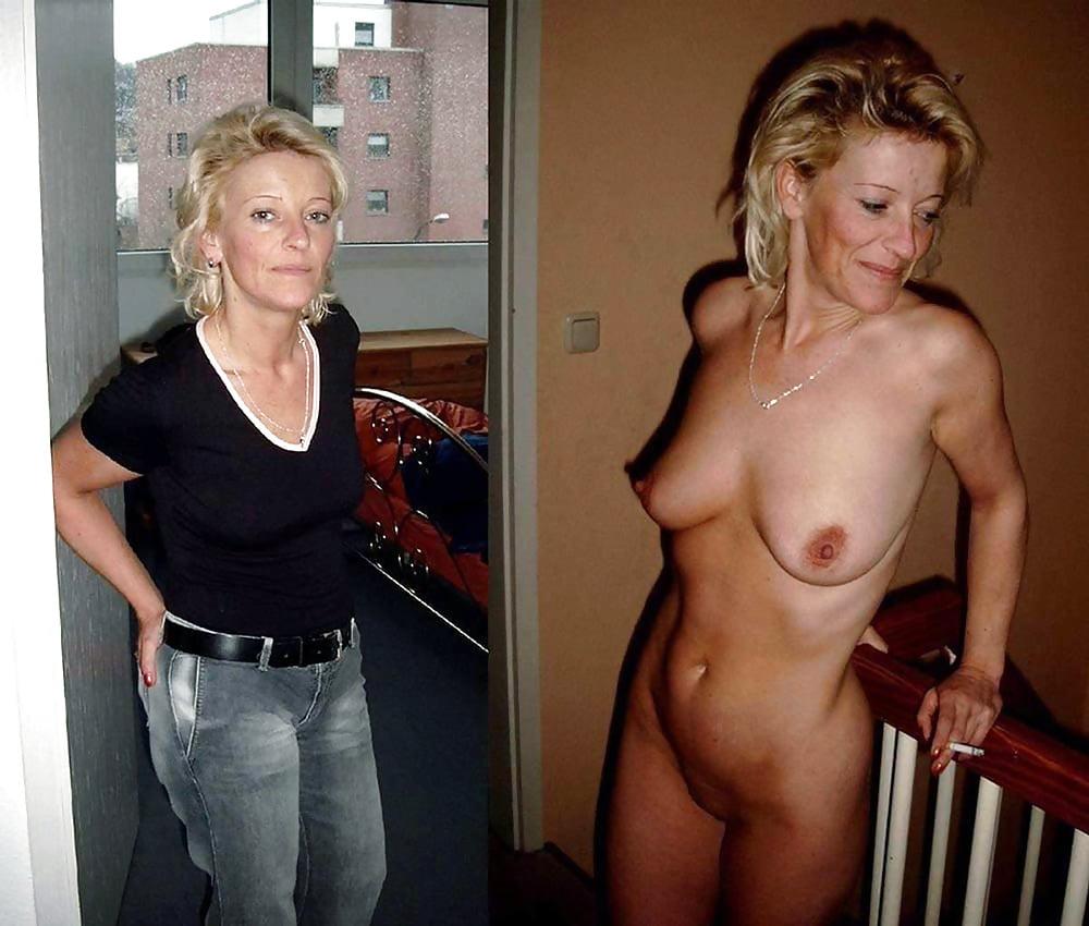Naked Mom Undresses Son