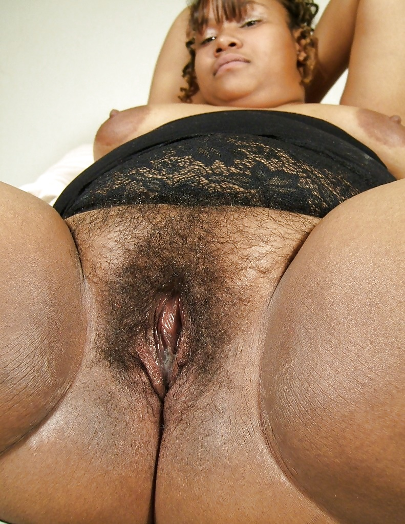 Fat Hairy Black Pussy