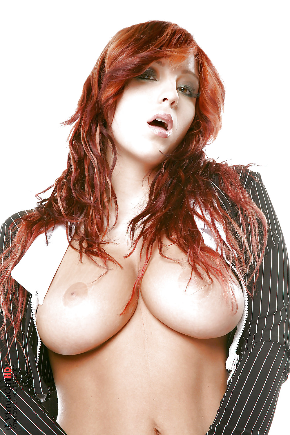 Marie mccray sexy redhead stripping and spreading