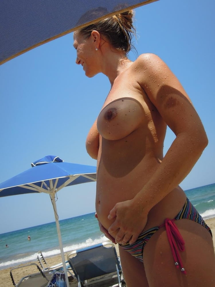 Blone fingering pregnant big tits nude beach