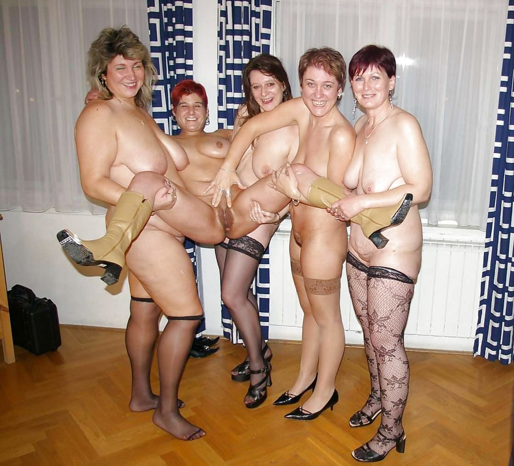 Hot naked group sex