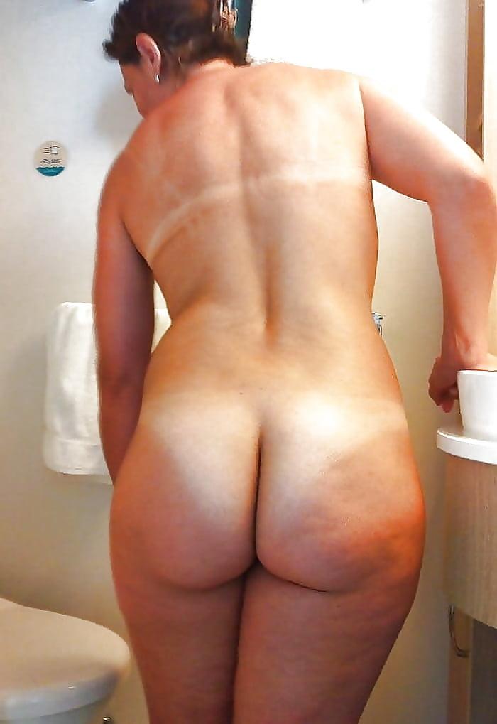Butt naked nude showing tan underwear white, pornhub is that yo bitch