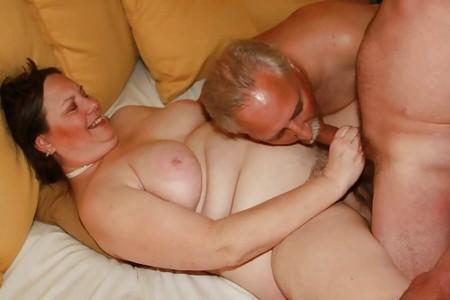 Couple share a dick