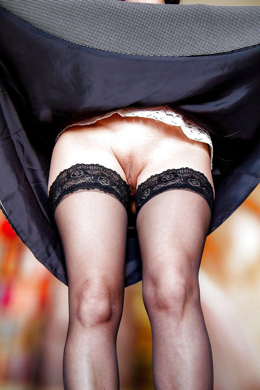 Skirt lifting videos