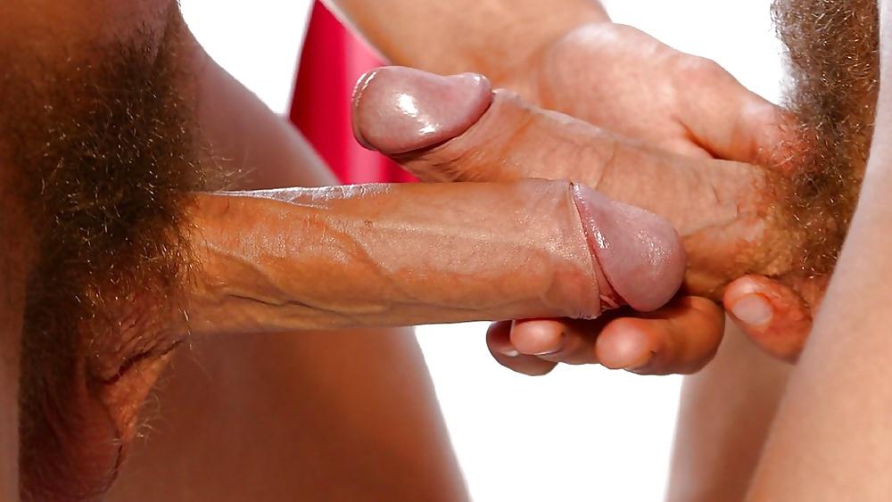 Babe rubbing a cock interracial how