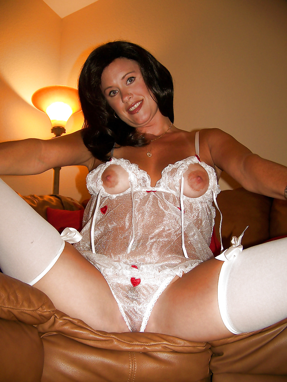 Stockings and lingerie