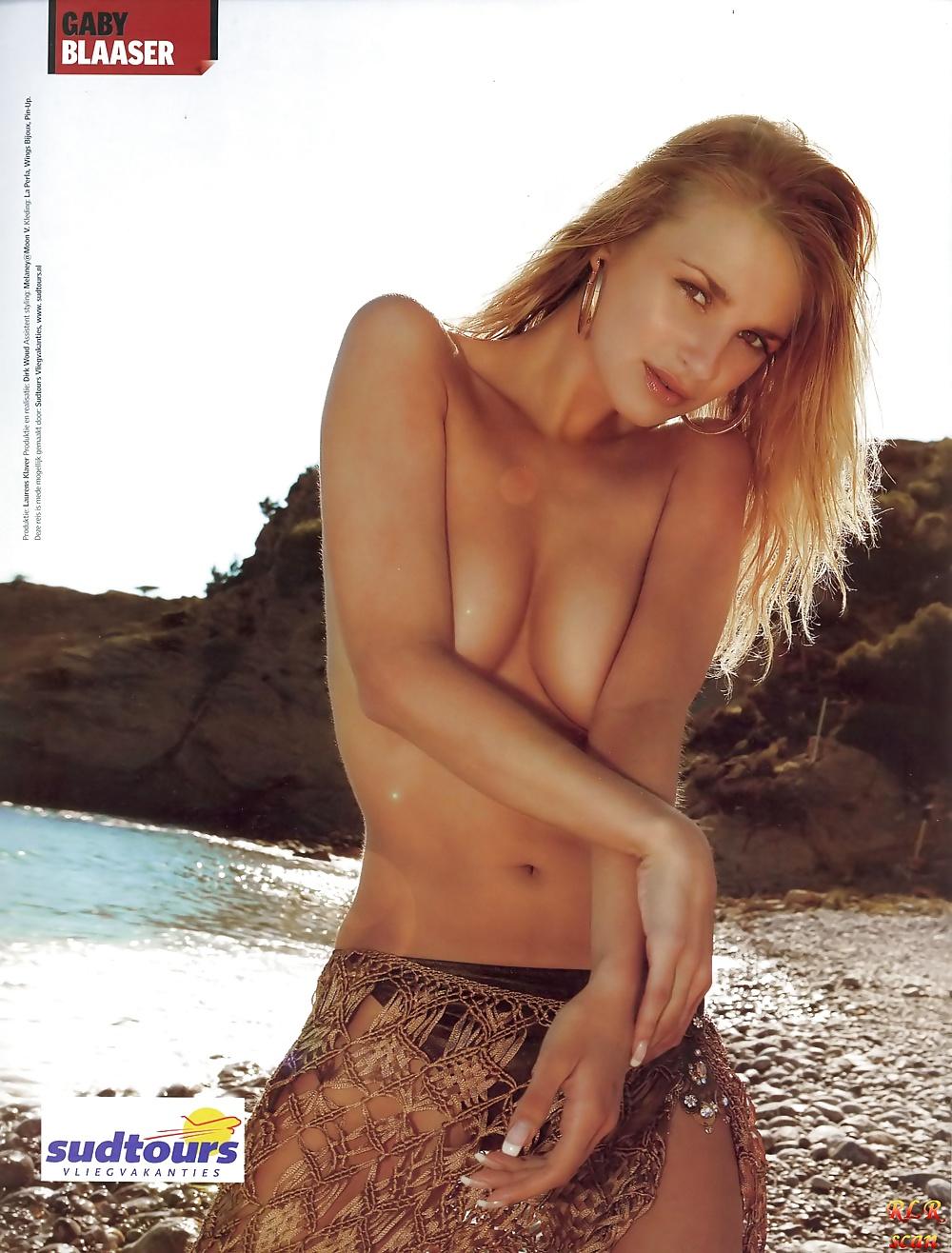 Gaby Blaaser  nackt