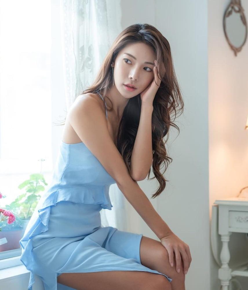 Hot sexy korean model-9386