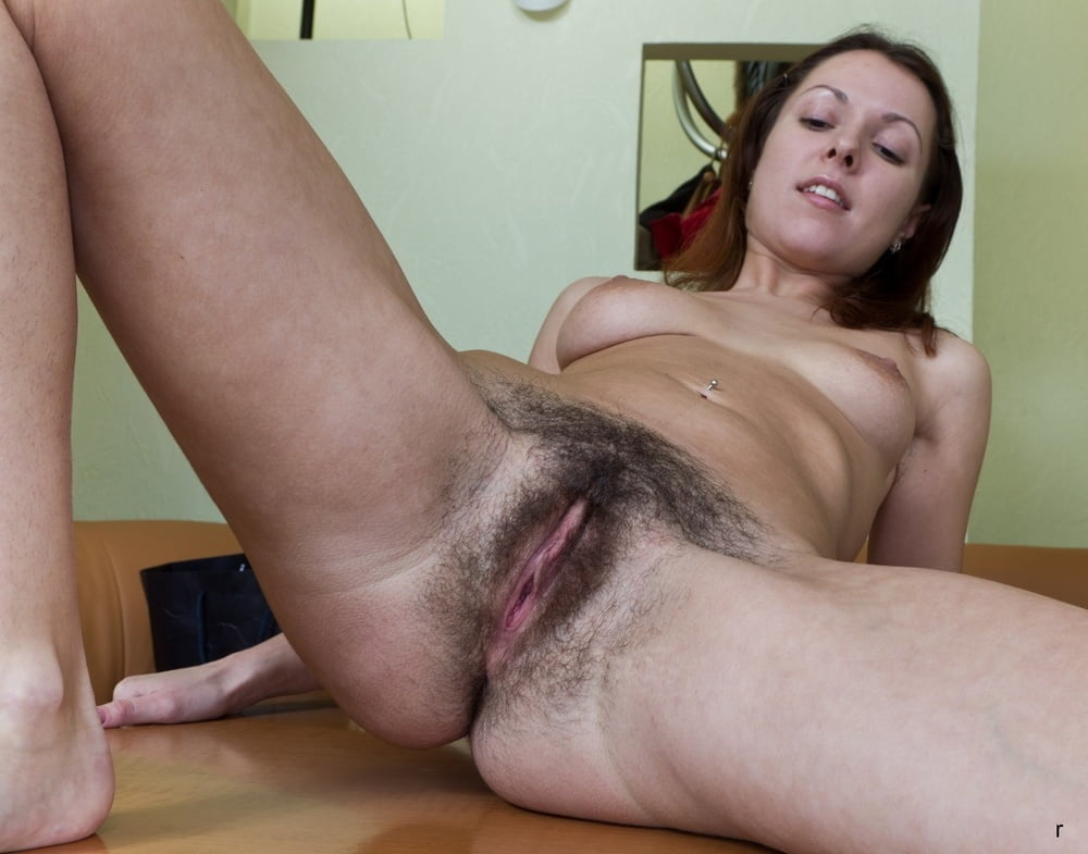 Showing Off Hairy Pussy