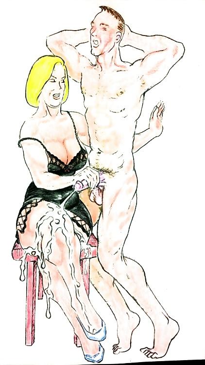 domination Erotic illustrations female