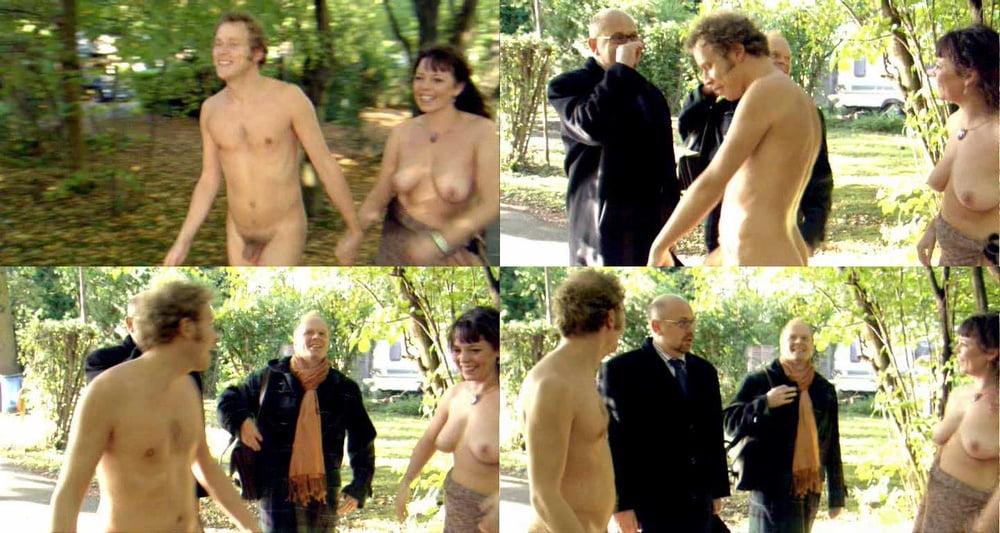 Olivia Colman Naked Confetti