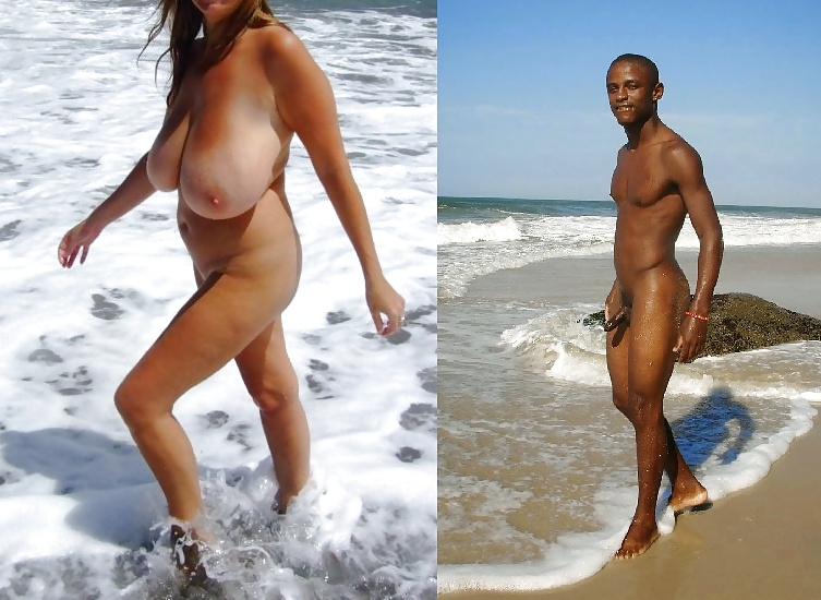 black and wife nude men