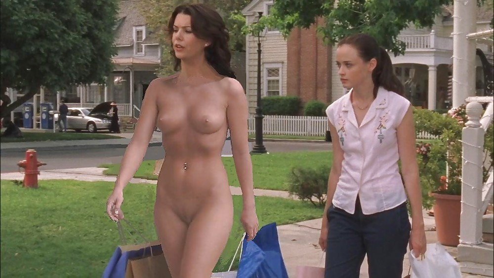 Lauren graham fake nude