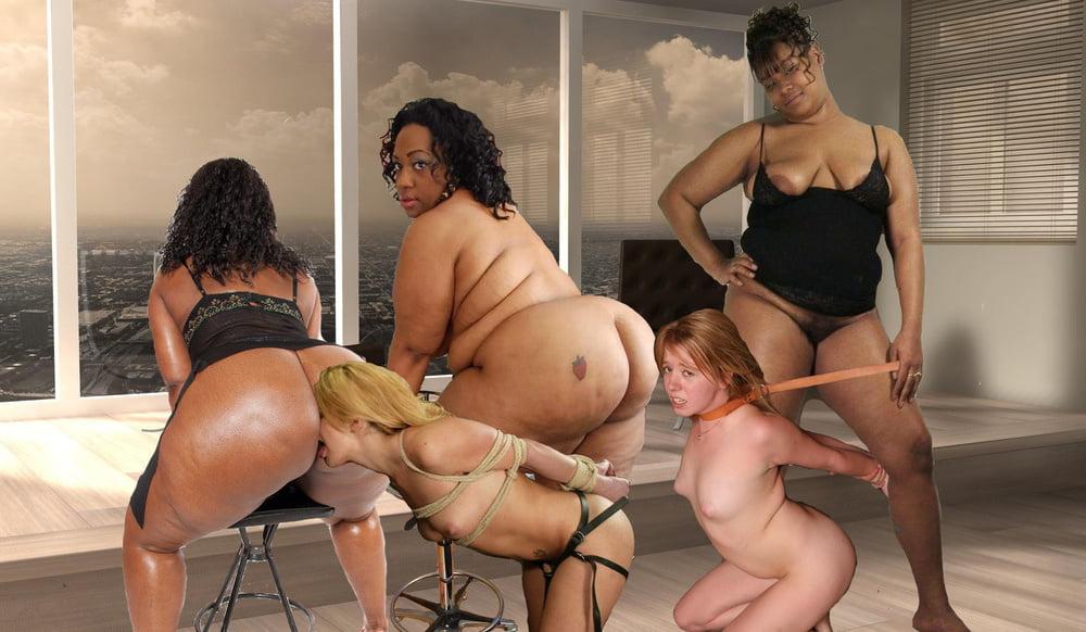 Lesbian Bbw Interracial