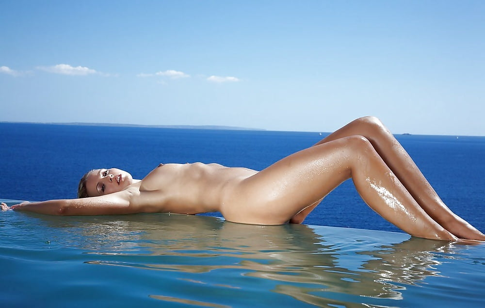Naked virgin naked hot blonde by pool vigina