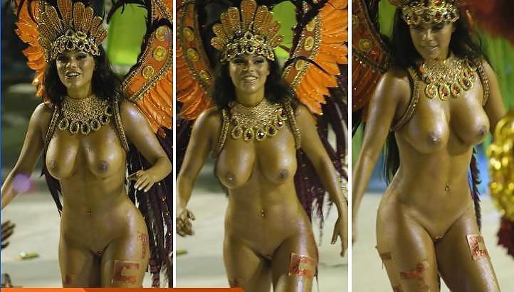 Жена ебут голые девушки с карнавала в бразилии