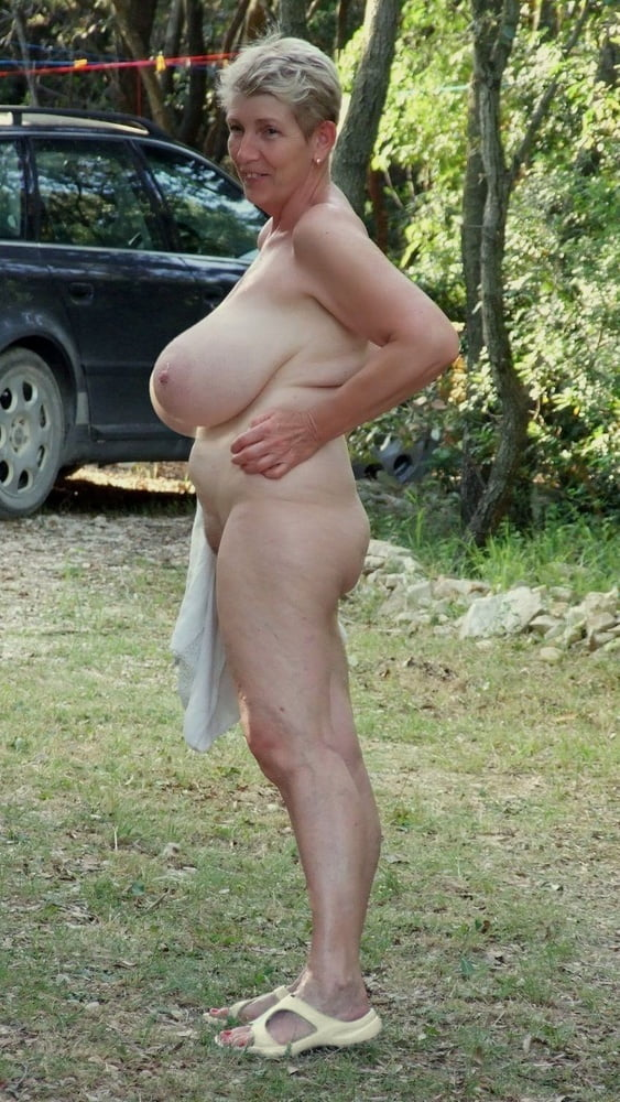 Old lady with big boobs 13