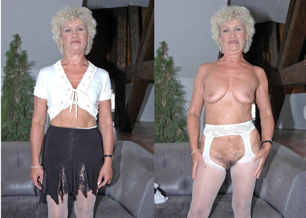Amateur granny naked