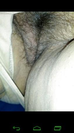 my bbw wife hairy pussy