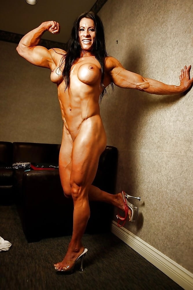 Sexy Female Muscle Nude