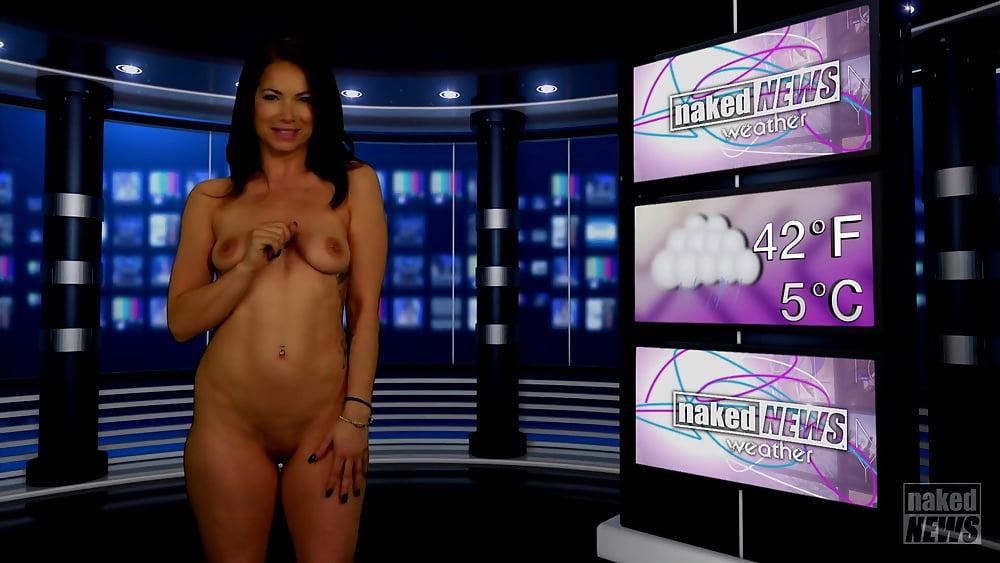 Naked news sandrine renard nude