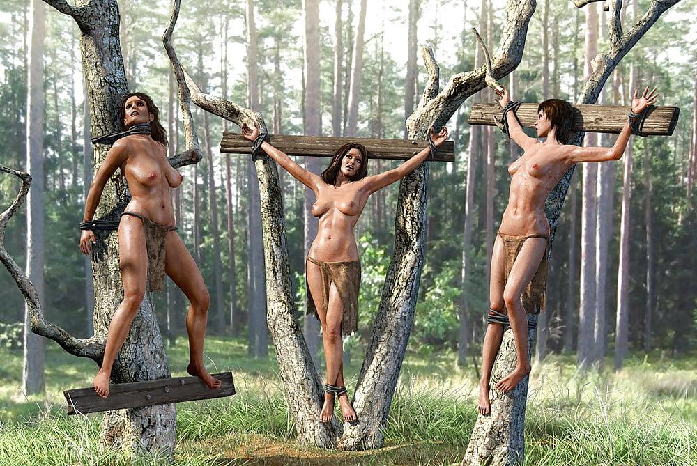 Girls chain gang nude