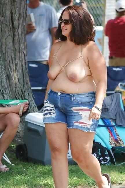 Chunky mature women-7207