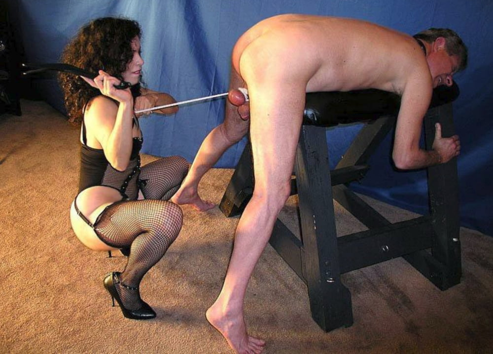 Brunette punished by mistress