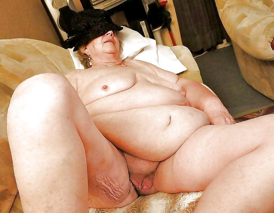 Fat Sexy Grandma In Home