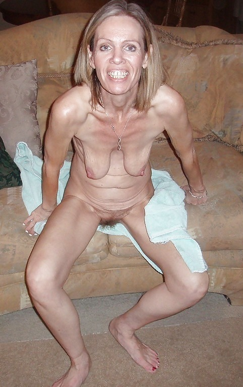 Old ugly naked tits