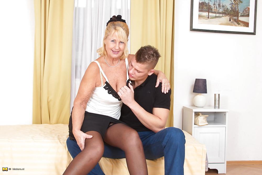 Mature women young men malesub 4