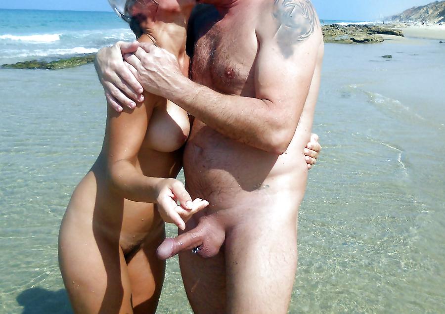 Nude beach couple big dick — photo 15